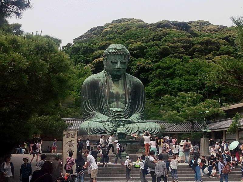 Huge Daibutsu, the Great Buddha statue is overwheming!