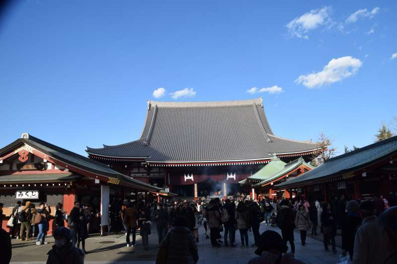 Senso-ji Temple. Asakusa