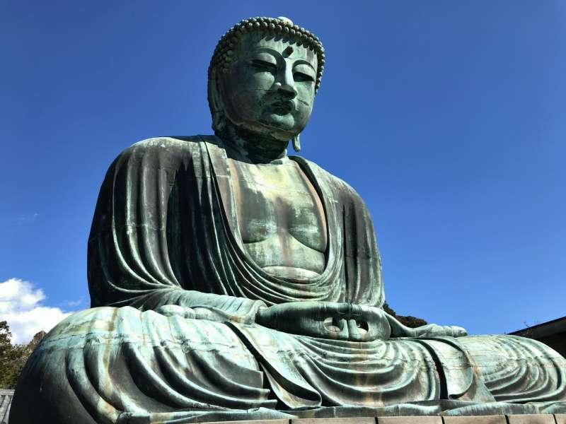 The Great Statue of Buddha at Kotokuin Temple in Kamakura