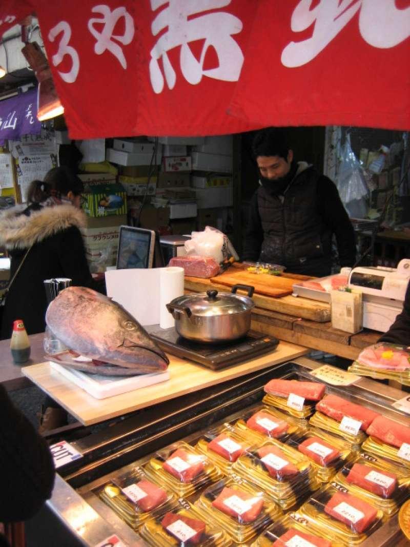 Tuna is so fresh !