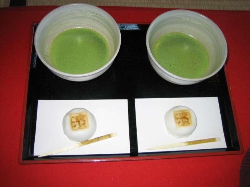 Japanese powdered tea (matcha), used at tea ceremony