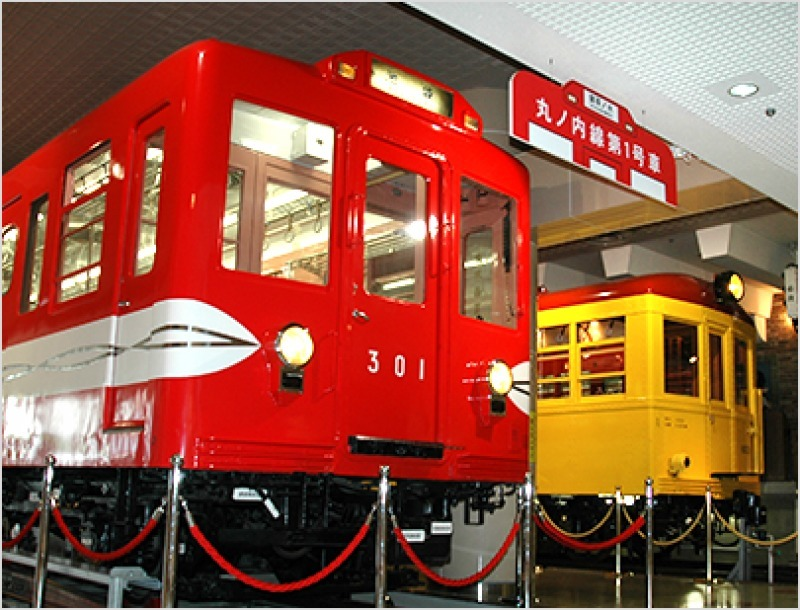 Subway Museum preserved cars