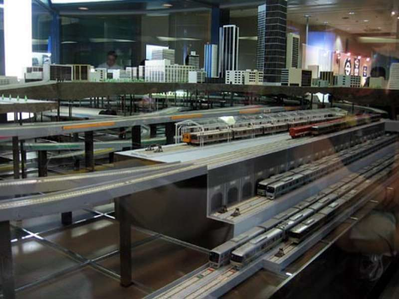 Subway Museum diorama