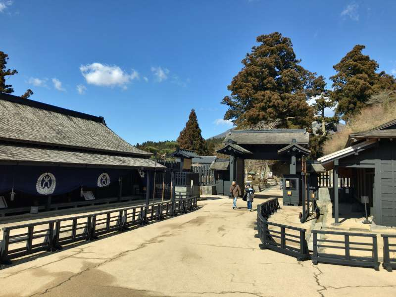 Hakone Checkpoint reproducing the feudal-era barrier