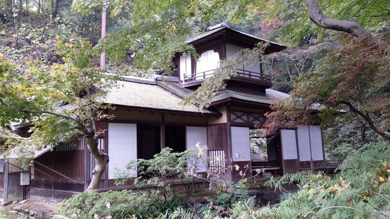 Sankeien garden established by Hara sankei, famous business trader.