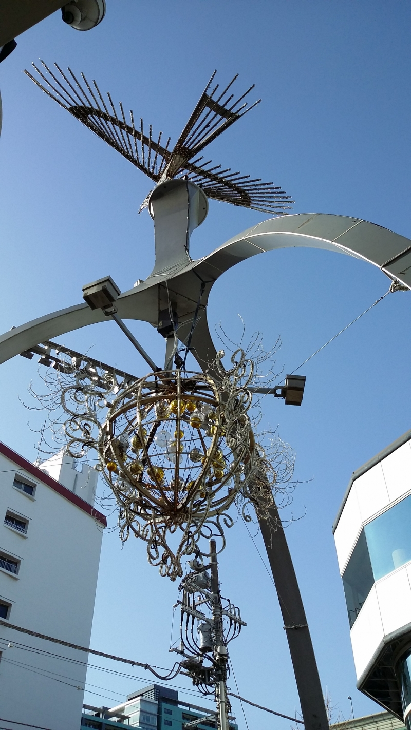 Symbol of Motomachi Shopping Mall.
