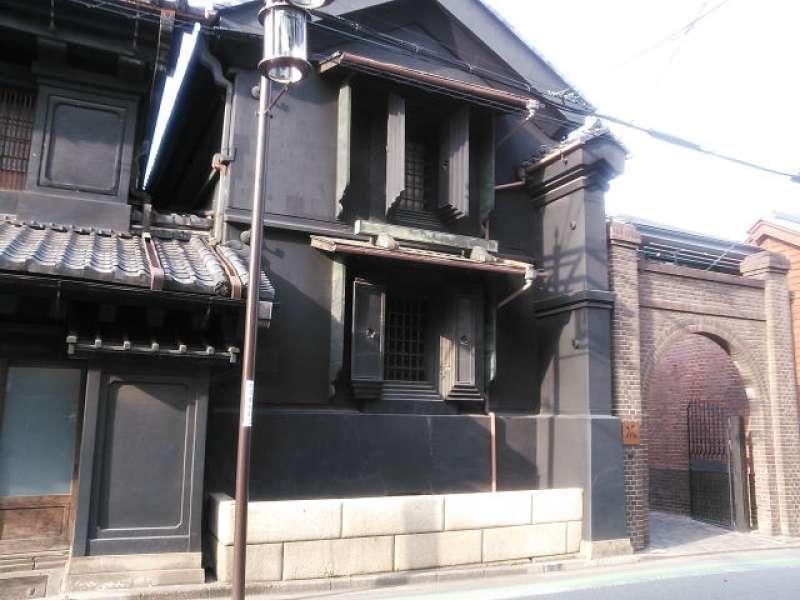 Old style warehouse called Kura
