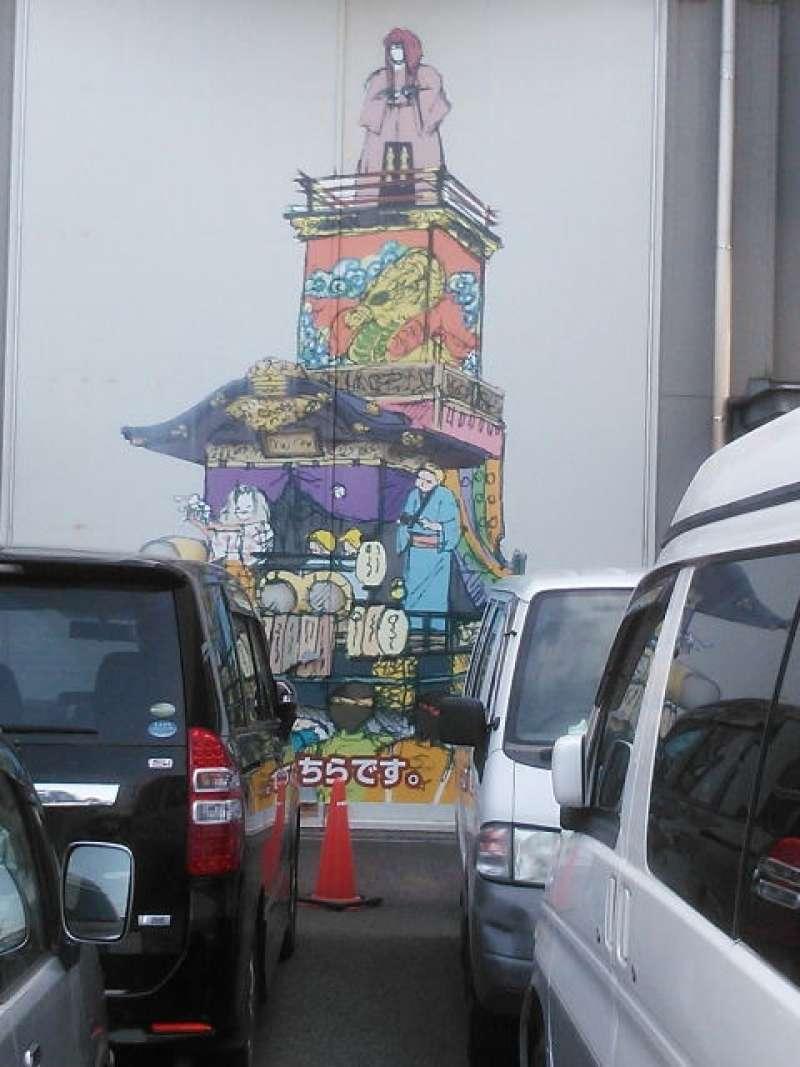 Festival float for Kawagoe festival