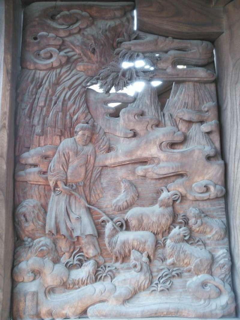 Religious relief in Kosai-ji Temple