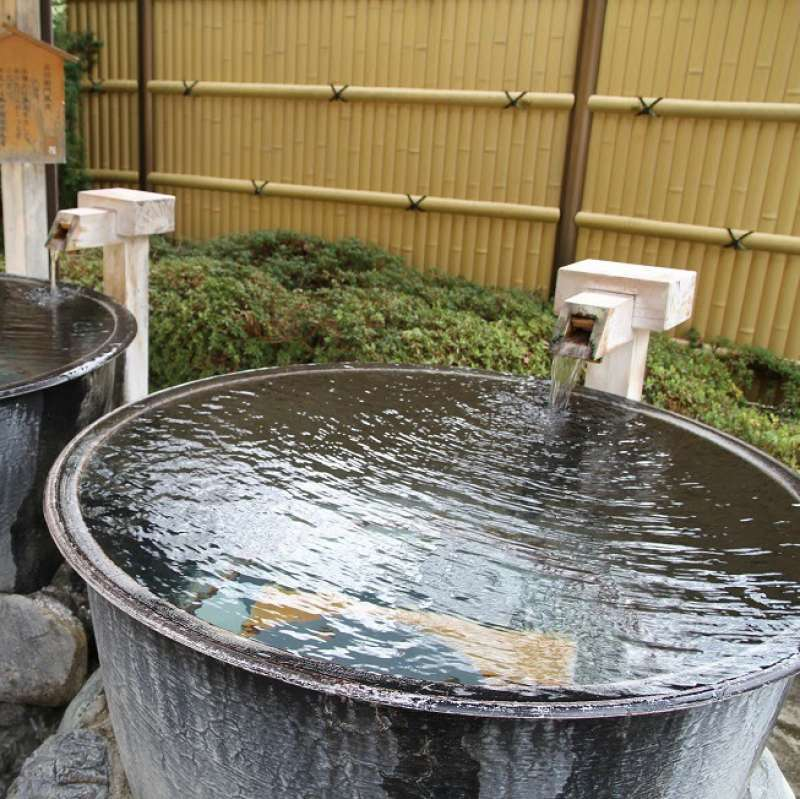 hot spring( entrance fee : 630 yen )