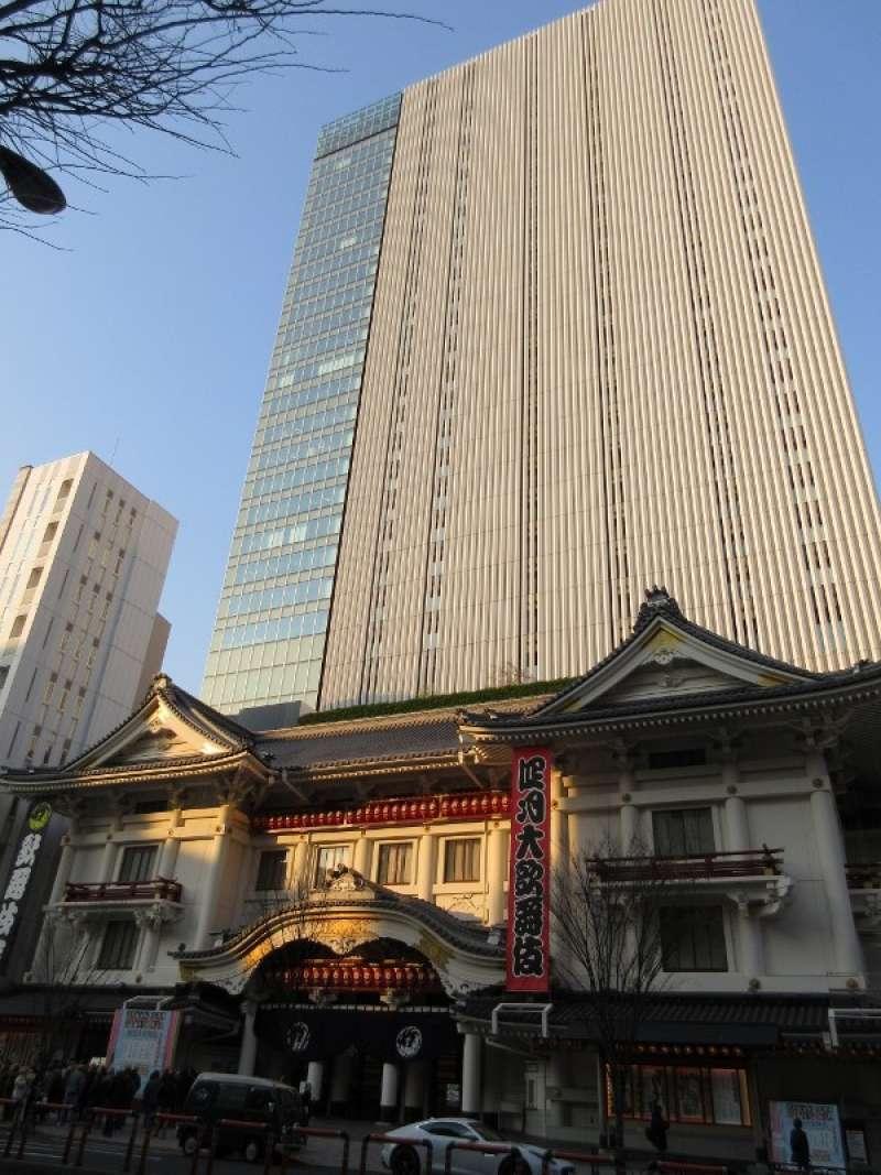 Kabukiza theater in Ginza
