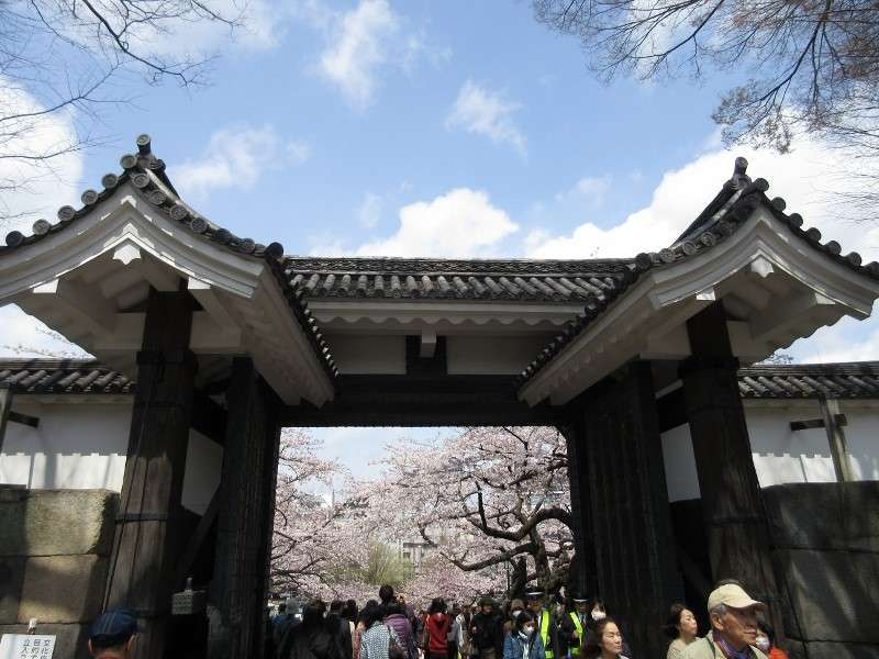 The Imperial palace , Tayasumon gate