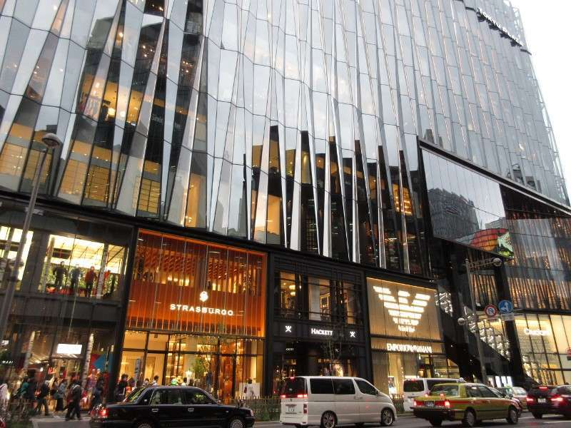 High-end town Ginza