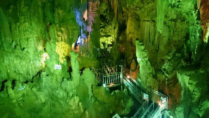Abukuma-do limestone cave, Tamura city. It takes one hour by train from Iwaki.