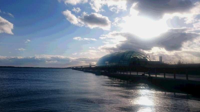 Aquamarine Fukushima, an aquarium, most popular spot in Iwaki city