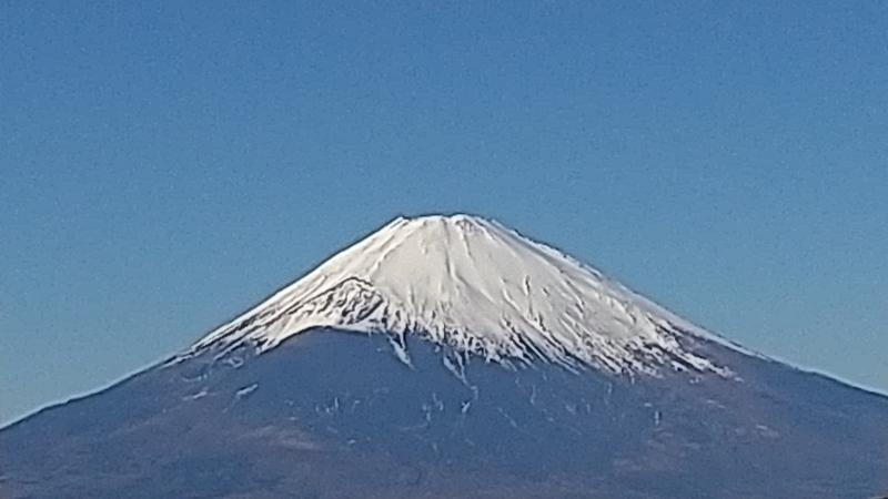 Mt.Fuji from Oowaku-dani valley