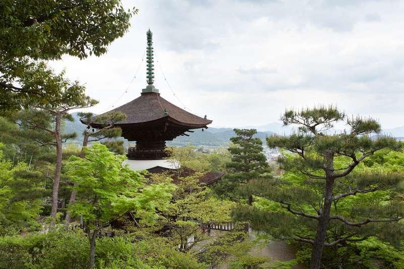 Taho-to Pagoda of Jojako-ji Temple