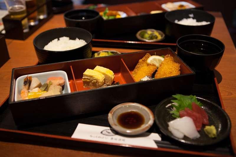 Ryouma Gozen  ( a set lunch ) at Kizakura Kappa Country