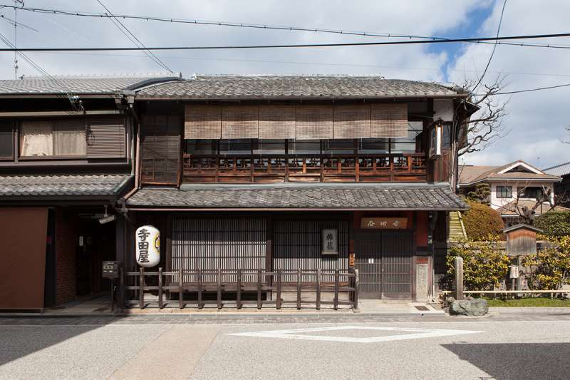 Teradaya Inn in Fushimi, where Sakamoto Ryouma, a Japanese hero just before Meiji Restoration, stayed a couple of months.