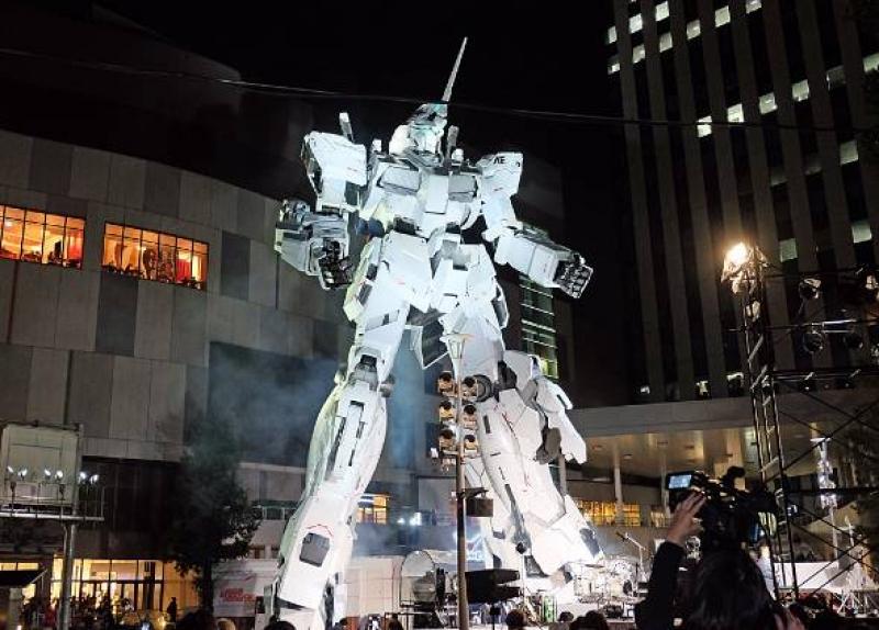 Gundam is an intelligent super-power robotic warrior to save the world.