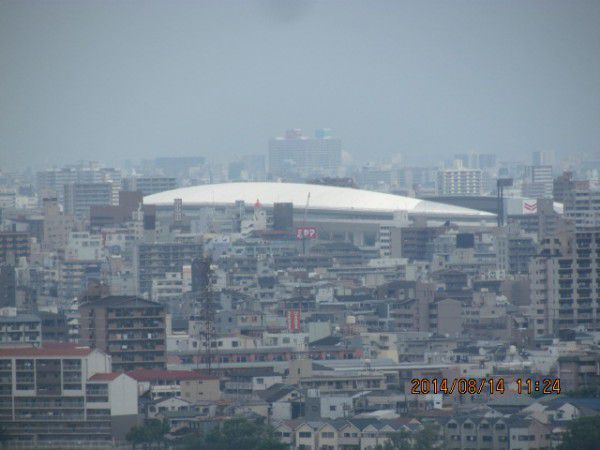 Nagai Stadium ( from the observation deck )