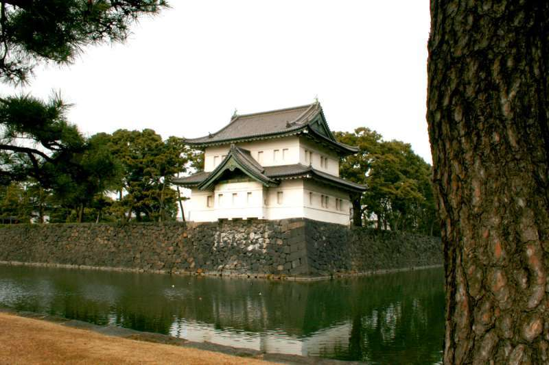 This is the watch-tower of the former Edo Castle.