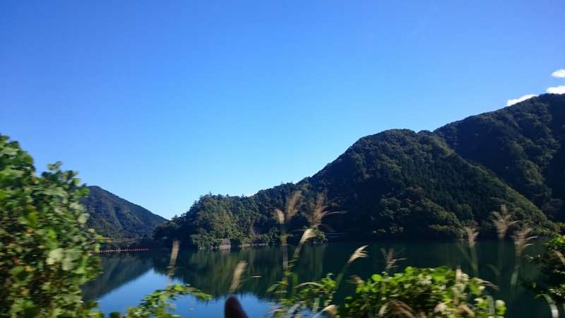 Okutama lake was a biggest artificial lake all over the world in the past