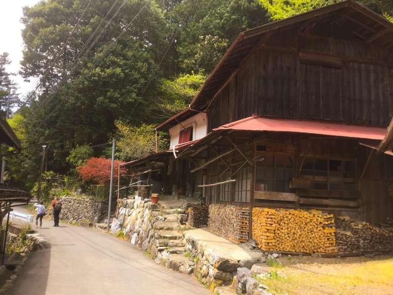Mountainous village