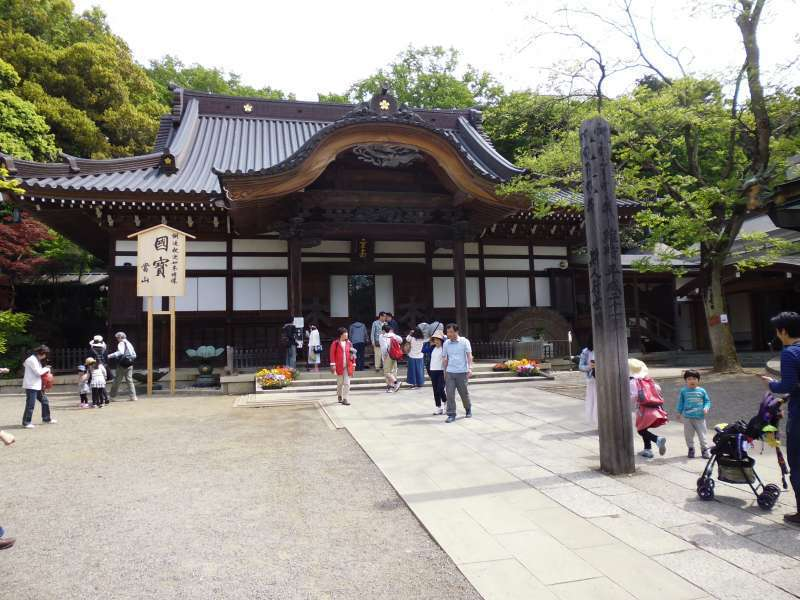 Main building of Jindaiji Temple