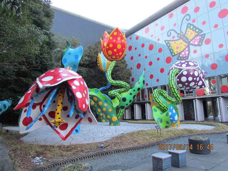 The work of Yayoi Kusama