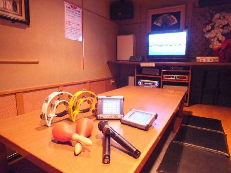 Inside of Karaoke room.