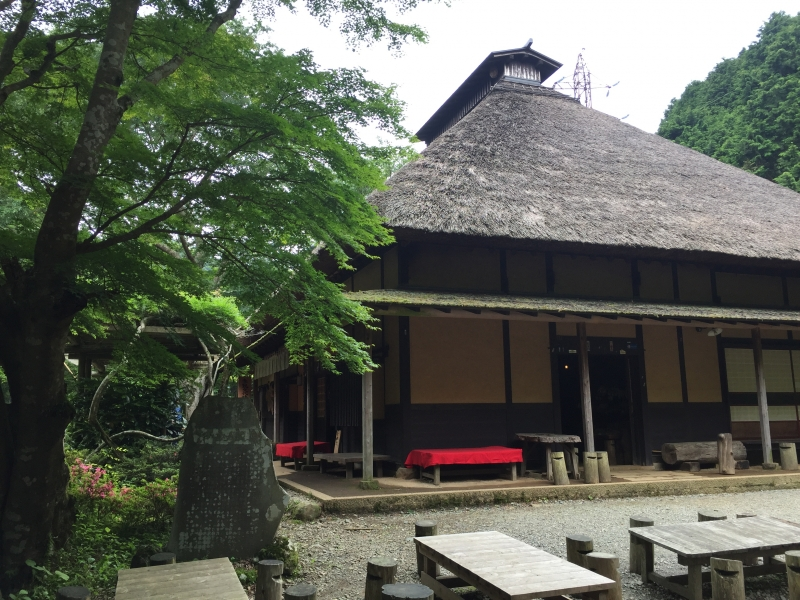 Amazake-chaya, 400 years old tea house for walking travelers
