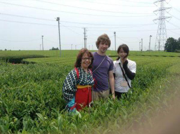 Tea picking experience☆