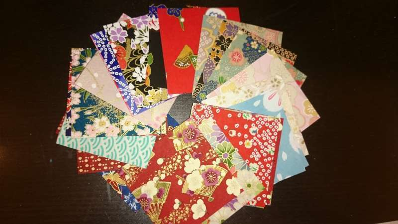 Traditional Washi papers