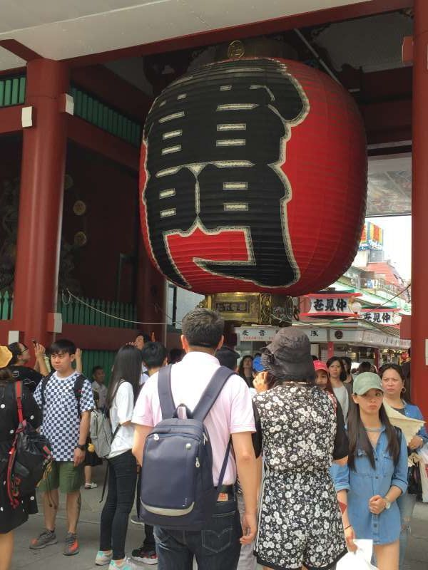Main gate of Asakusa temple