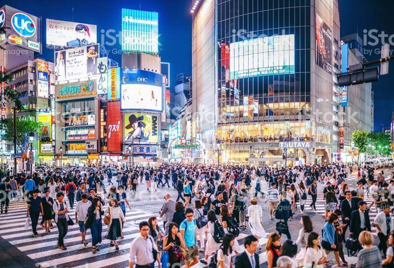There are so many things to see in Shibuya, such as a statue of a fathful dog named Hachiko, Shibuya scrambles, a big painting named Tomorrow's Myth by Mr. Taro Okamoto and many stores to attract young generations.