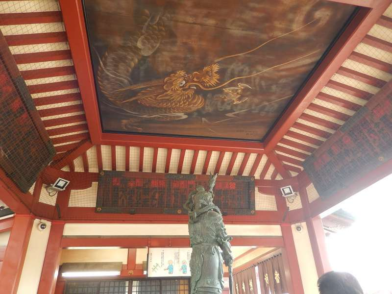 Inside of the Sensoji temple