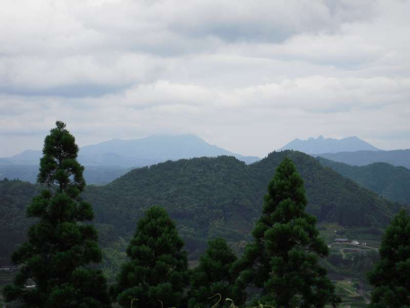 A view from Kunimigaoka observatory. You can also see Mt.Aso(Kumamoto)!