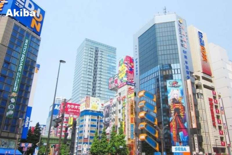 12. Akiba, Electronics & Action Figures