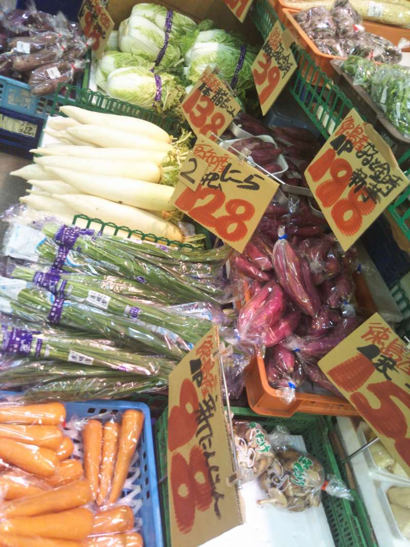 Vegetable Market at Pulala Temma Market