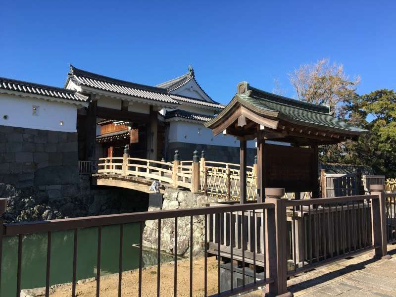 Sumpu castle park main entrance
