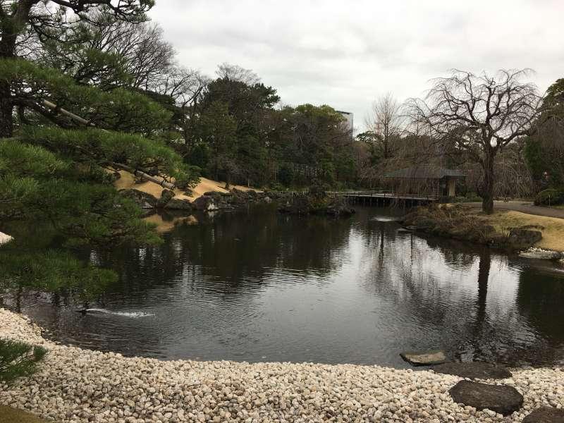 Momijiyama teien garden at Sumpu castle park