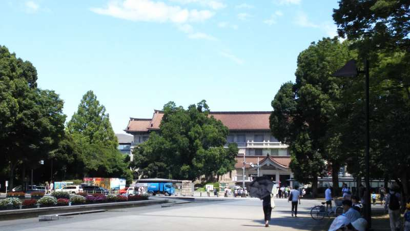 Ueno Park and National museum.
