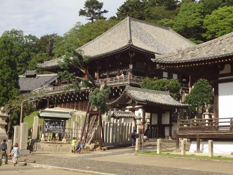 Second Month Temple (Nigatsu-Do) (National Treasure, Edo period,1669)