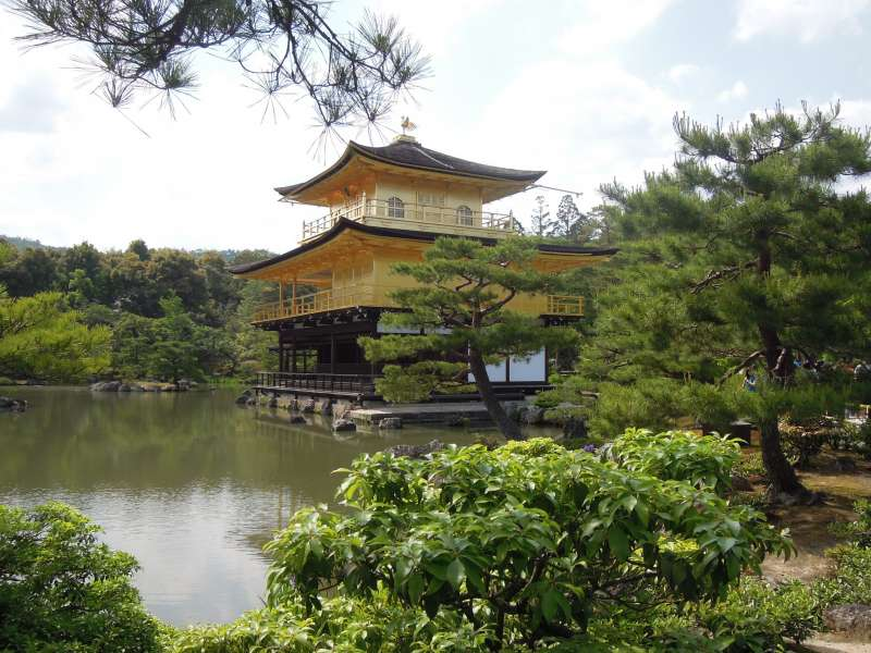 Kinkaku-ji Temple ( the Golden Pavilion ), Kitayama