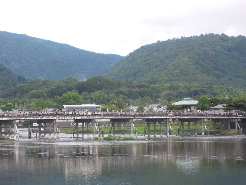 Togetsu-kyo ( Moon-crossing Bridge ), Arashiyama