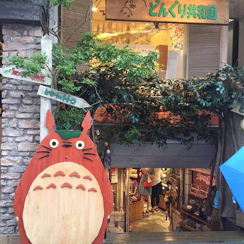 Ghibli Studio shop in Komachi street