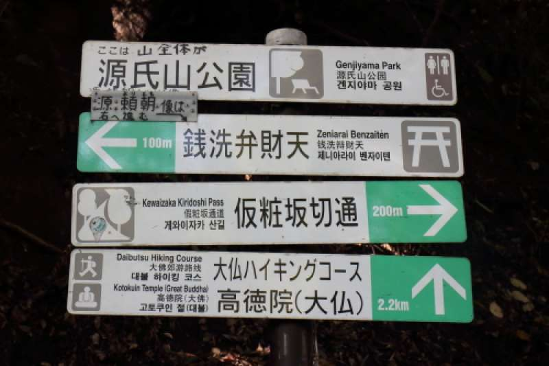 One more hiking trail signs