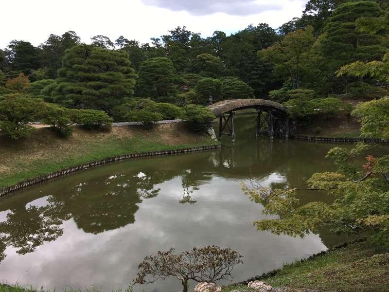 Pond of the villa