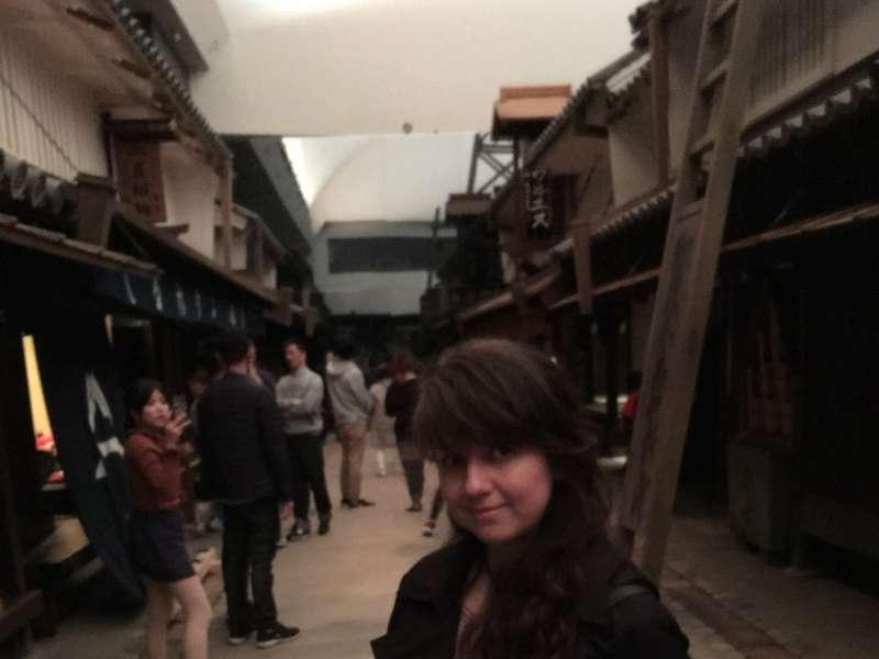 El Museo de la vivienda antigua de Osaka, si tiene suerte, podrá ponerse el vestido tradicional.
